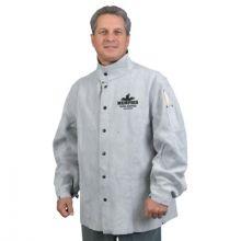 "Memphis Glove 38030MWL Welding Jacket  30"" Length  Leather"