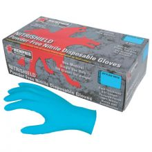 Memphis Glove 6015M Med 4 Mil Nitrishield Disposable Glove Pwdr Free (100 EA)