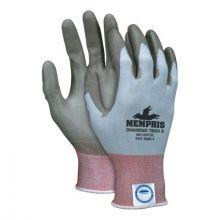Memphis Glove 9672DT2XXL Diamond Tech 2Diamond Tech  Sh  Gr Pu Coating