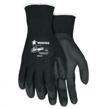 Memphis Glove N9699L 3Ninja Hpt 15 Ga Pvc Foam -Black Nyl (12 PR)