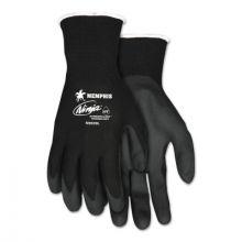 Memphis Glove N9699XL Ninja Hpt 15 Ga Pvc Foam-Black Nylo (12 PR)