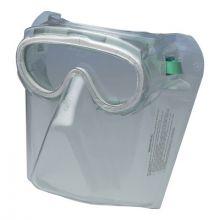 Jackson Safety 16671 Goggle Mono Shield Assy211 Grn/Clr  3005059