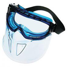 Jackson Safety 18629 Full Face Faceshield Blue Frame Anti Fog Clear L