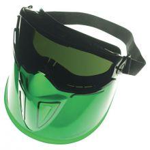 Jackson Safety 18633 Fullface Black Frame Faceshield Anti Fog 5.0 Len