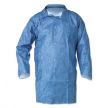 Kimberly-Clark Professional 45518 Kleenguard A60 Bl 2Xl Chemical Labcoat (1 EA)
