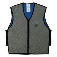 Ergodyne 12546 Chill-Its 6665 Evaporative Cooling Vest 2Xl Gray
