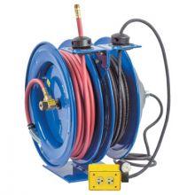 Coxreels C-L350-5016-A 3/8In X 50Ft Dual Purpose Spring Rewind Hose Ree