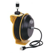 Coxreels EZ-PC13-5012-B Safety Series Spring Rewind Power Cord Reel