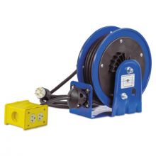 Coxreels PC10-3012-B Compact Power Cord Reel-12/3 X 30' Quad Ind