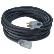Southwire 036790008 100' Bl 12/3 Rubber Sjoow Ul Ext Cord W/Lit Ends