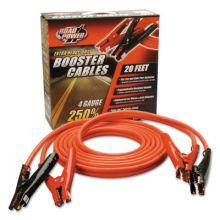 Southwire 08660 20' 4 Gauge 500 Amp Black Auto Booster Cables