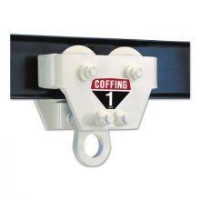 Coffing Hoists CTA-60P 09212 3T Cap. Coffing Cttrolley Pla