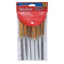 "Nicholson 22062NN File Set-4""-6 File Assortment-Bastard"
