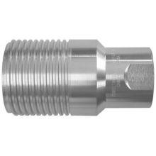 """Dixon Valve WS6F6 3/4"""" Steel Plug 3/4-14Nptf Thread Psi 345"""