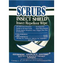 Scrubs 91401 Insect Sheild Insect Repellant Towel 1/Package (100 PKG)