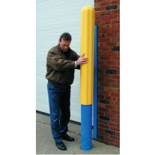 "Eagle Mfg 1732 4"" Bumper Post Sleeve-Yellow"
