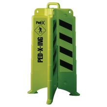 Eagle Mfg 1840NS 00258 Ped Crossing Barricade Lime Green W/ No Sh