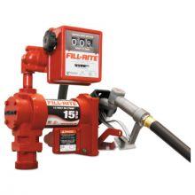 """Fill-Rite FR1211G 12V Dc Pump  Suction Pipe  3/4""""X12' Hose"""