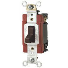 Cooper Wiring Devices AH1223B Sw Tog 3Way 20A 120/277Vautogrd B&S Br (1 EA)