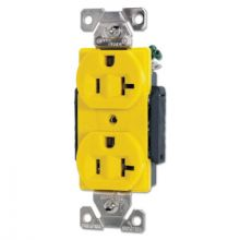 Cooper Wiring Devices AH5362CRY Recp Duplex 20 Amp 125 Volt