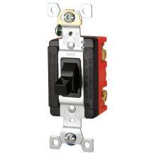 Cooper Wiring Devices AH6808UDAC Man Cont 20/30A 600/250Vac 2Pole B&S Bk