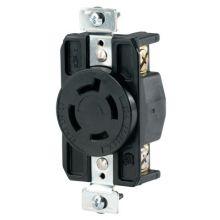 Cooper Wiring Devices CWL1420R Recp Single 20A 125/250V3P4W H/L Bk