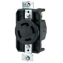 Cooper Wiring Devices CWL1430R Recp Single 30A 125/250V3P4W H/L Bk