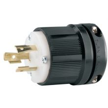 Cooper Wiring Devices CWL520P Plug 20A 125V 2P3W H/L Bw (1 EA)