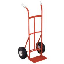 "Milwaukee Hand Trucks 40135 Dual Handle Handtruck W/10"" Pneumati Wheels 600#"