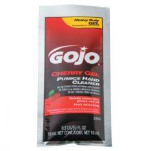 Gojo 2350-02 50 Packets Cherry Gel Pumice Hand Cleaner (1 EA)