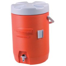 Rubbermaid Home Products 1683-01-11 3Gal Orange Plastic Water Cooler 1683