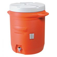Rubbermaid Home Products 1840999 Cooler 5 Gal Water-Oran