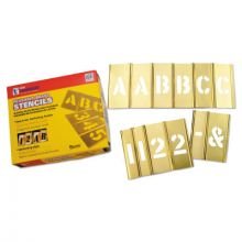 "C.H. Hanson 10116 6"" 77Pc Letter & Numberstencil Set"