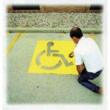 "C.H. Hanson 12438 43"" High Handicapped Symbol Parking Lot"