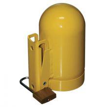 "Saf-T-Cart SC8FNNP-12 High Pressure Safety Cap- 3.125"" For Oxygen  Fi"