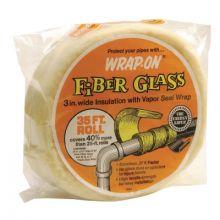 """Wrap-On 16506 W0J40 1/2""""X6""""X35' Fiberglass Insulation"""