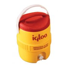 Igloo 451 5 Gal Yellow/Red Plasticind. Cooler