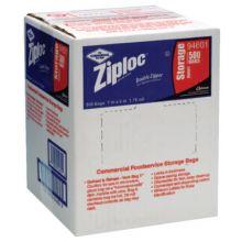 Ziploc 682256 Case/500 Ziplock Bags Quart Storage 1.75 Mil