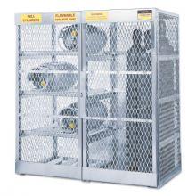 Justrite 23008 Combo Vert/Horizontal Cylinder Locker