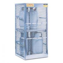 Justrite 23010 8 Cylinder Vertical Storage Locker