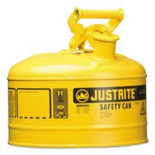 Justrite 7125200 2.5G/9.5L Safe Can Yel