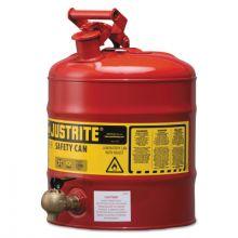 Justrite 7150140 5G/19L Lab Red W/540 Fct