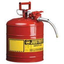 Justrite 7250120 5G/19L Iiaf Red 5/8 Hose
