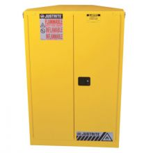 Justrite 894620 Cabinet  Corner 45G Sc Yel
