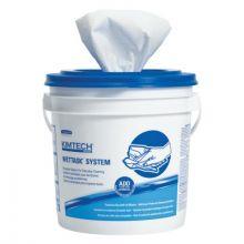 "Kimberly-Clark Professional 06411 White Kimtech Prep Wiper12""X12.5"" (90Sheets/Roll (6 RL)"
