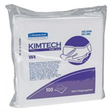 """Kimberly-Clark Professional 33330 11.5""""X12"""" Crew Poly White Cleanroom Wipes 100/Bx (5 BX)"""