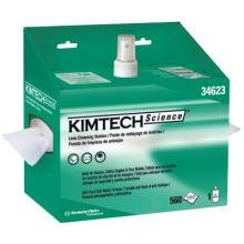 Kimberly-Clark Professional 34623 Kimwipes Lens Cleaning Station 1-Ply 560 Sht/Sta (4 BX)