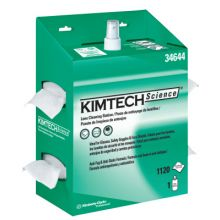 Kimberly-Clark Professional 34644 Kimwipes Lens Cleaning Station 1120 Wipers/Stati (4 BX)