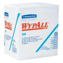 "Kimberly-Clark Professional 34865 Wypall X60 Teri Wiper 13""X13.5""White 76/Roll (12 BX)"