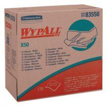 Kimberly-Clark Professional 83550 (Box/176) Wypall X50 Wipers White 9.1X12.5 (10 BX)